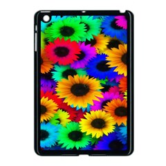 Colorful Sunflowers Apple Ipad Mini Case (black) by StuffOrSomething