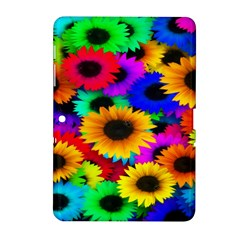 Colorful Sunflowers Samsung Galaxy Tab 2 (10 1 ) P5100 Hardshell Case  by StuffOrSomething