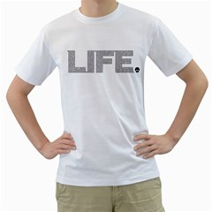 Life Is Amazing Men s T Shirt (white)  by Contest1884227