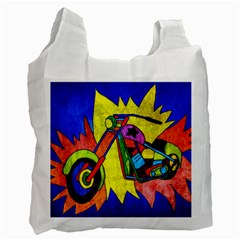 Chopper Recycle Bag (two Sides) by Siebenhuehner