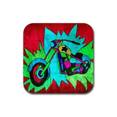 Chopper Drink Coasters 4 Pack (square) by Siebenhuehner