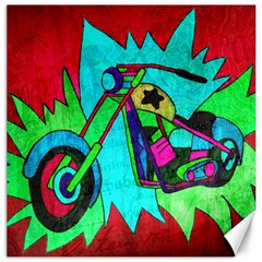 Chopper Canvas 20  X 20  (unframed) by Siebenhuehner