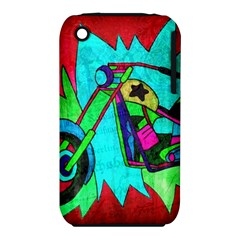 Chopper Apple Iphone 3g/3gs Hardshell Case (pc+silicone) by Siebenhuehner