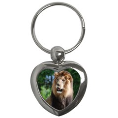 Regal Lion Key Chain (heart) by AnimalLover