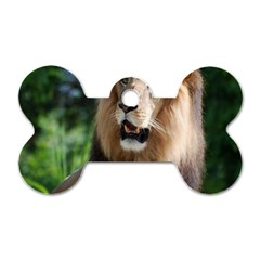 Regal Lion Dog Tag Bone (one Sided) by AnimalLover