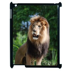 Regal Lion Apple Ipad 2 Case (black) by AnimalLover