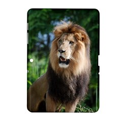 Regal Lion Samsung Galaxy Tab 2 (10 1 ) P5100 Hardshell Case  by AnimalLover
