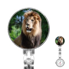 Regal Lion Stainless Steel Nurses Watch by AnimalLover