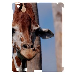 Cute Giraffe Apple Ipad 3/4 Hardshell Case (compatible With Smart Cover) by AnimalLover