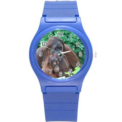 Orangutan Family Plastic Sport Watch (small) by AnimalLover
