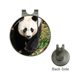 Giant Panda Hat Clip With Golf Ball Marker by AnimalLover