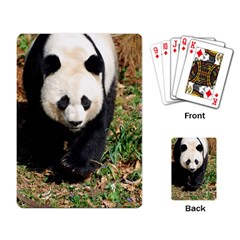 Giant Panda Playing Cards Single Design by AnimalLover