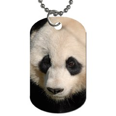 Adorable Panda Dog Tag (two Sided)  by AnimalLover
