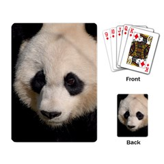 Adorable Panda Playing Cards Single Design by AnimalLover