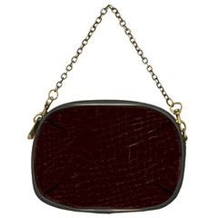 Burgundy Chain Purse (two Sides)