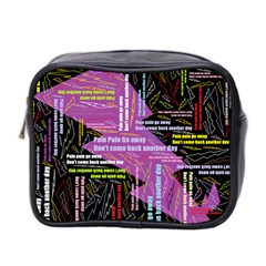 Pain Pain Go Away Mini Travel Toiletry Bag (two Sides) by FunWithFibro