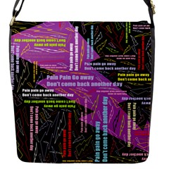 Pain Pain Go Away Flap Closure Messenger Bag (small)
