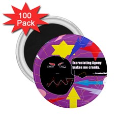 Excruciating Agony 2 25  Button Magnet (100 Pack)