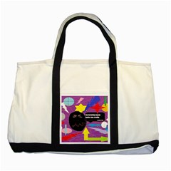 Excruciating Agony Two Toned Tote Bag