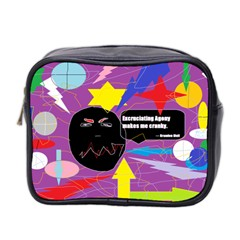Excruciating Agony Mini Travel Toiletry Bag (two Sides) by FunWithFibro