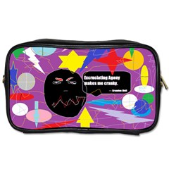 Excruciating Agony Travel Toiletry Bag (one Side)