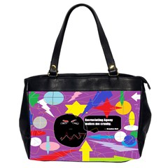 Excruciating Agony Oversize Office Handbag (two Sides) by FunWithFibro