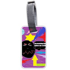 Excruciating Agony Luggage Tag (one Side) by FunWithFibro