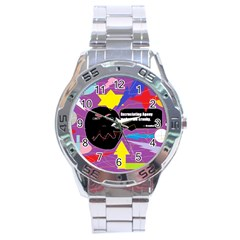 Excruciating Agony Stainless Steel Watch
