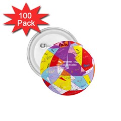 Ain t One Pain 1 75  Button (100 Pack) by FunWithFibro