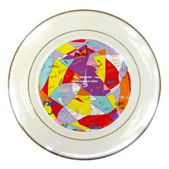 Ain t One Pain Porcelain Display Plate by FunWithFibro