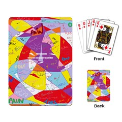 Ain t One Pain Playing Cards Single Design
