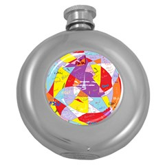 Ain t One Pain Hip Flask (round) by FunWithFibro