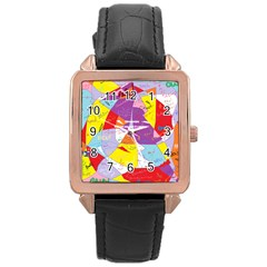 Ain t One Pain Rose Gold Leather Watch
