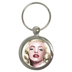 Marilyn Key Chain (round) by malobishop