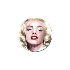 Marilyn Golf Ball Marker 10 Pack by malobishop