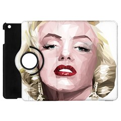 Marilyn Apple Ipad Mini Flip 360 Case