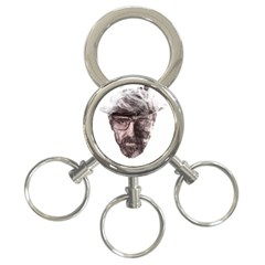 Heisenberg  3-ring Key Chain by malobishop