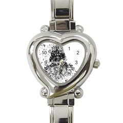 Darth Vader Heart Italian Charm Watch