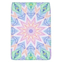 Soft Rainbow Star Mandala Removable Flap Cover (large) by Zandiepants