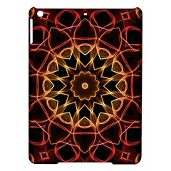 Yellow And Red Mandala Apple Ipad Air Hardshell Case
