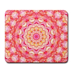 Yellow Pink Romance Large Mouse Pad (rectangle)