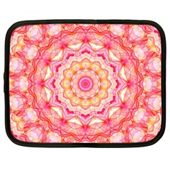 Yellow Pink Romance Netbook Sleeve (xxl)