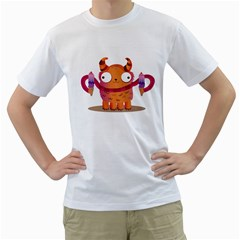 Icrecream Monster Men s T Shirt (white)