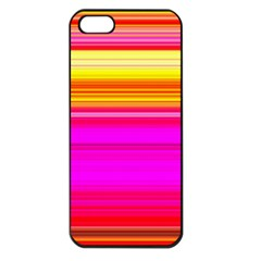 Colour Lines Apple Iphone 5 Seamless Case (black)