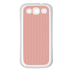 Wave Samsung Galaxy S3 Back Case (white) by Contest1630871