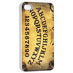 Call Me On My Ouija Board Apple Iphone 4/4s Seamless Case (white)