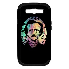 Poe & The Ravens Samsung Galaxy S Iii Hardshell Case (pc+silicone) by TheTalkingDead