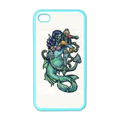 Zombie Mermaid Apple Iphone 4 Case (color) by TheTalkingDead