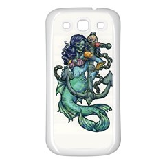 Zombie Mermaid Samsung Galaxy S3 Back Case (white)