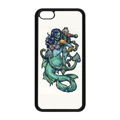 Zombie Mermaid Apple Iphone 5c Seamless Case (black)